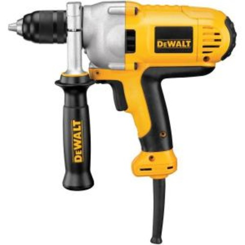 DEWALT 1/2 in. (13 mm) Variable Speed Reversing Mid-Handle Grip Drill with Keyless Chuck