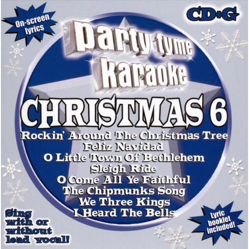 Party Tyme Karaoke: Christmas, Vol. 6 [CD]