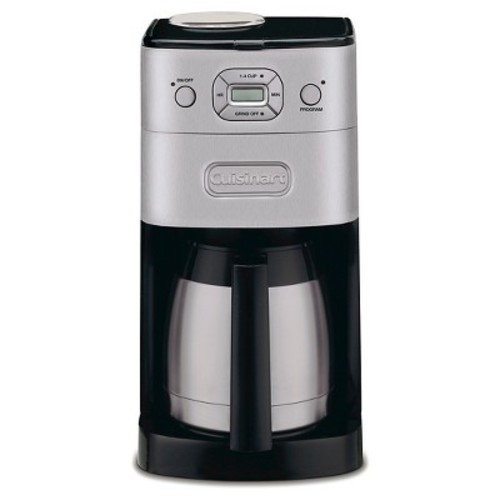 Cuisinart Grind and Brew 10-Cup Automatic Coffee Maker DGB650BC