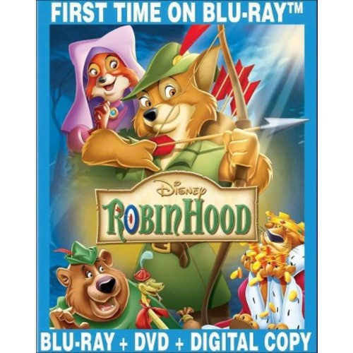 Robin Hood [40th Anniversary Edition] [Blu-ray]