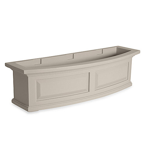 Mayne Nantucket 3-Foot Window Box in Clay