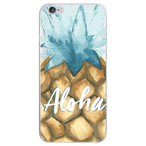 iPhone 6/6S/7/8 Case Hybrid Aloha Clear - OTM Essentials