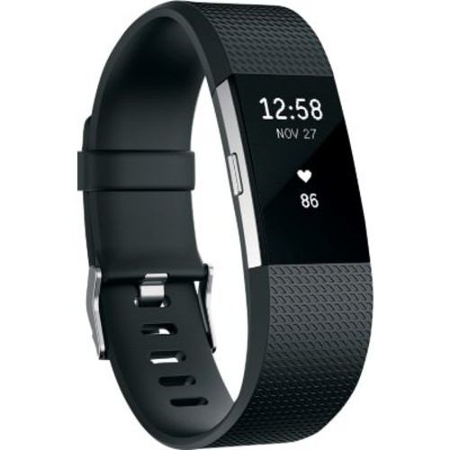 Fitbit Charge 2 Fitness Wristband [MODEL : BLACK]