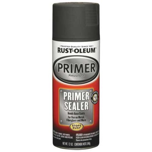 Rust-Oleum 249321 Automotive 12-Ounce Primer Sealer Spray Paint, Gray