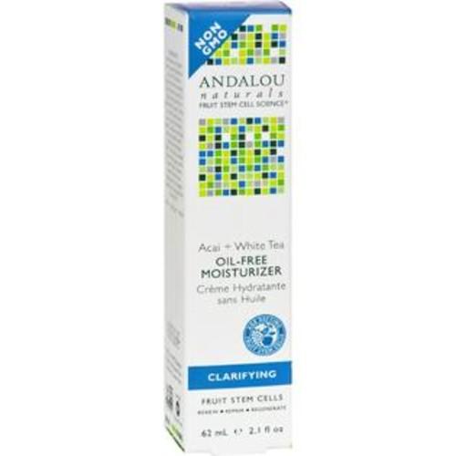 Andalou Naturals Tea Oil-Free Moisturizer Acai Plus White - 2.1 Fl Oz