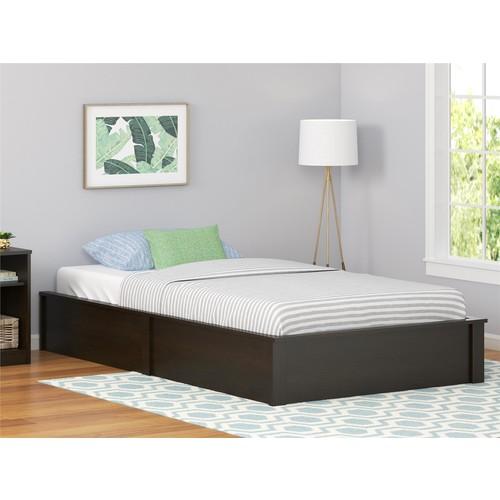 Dorel Home Furnishings Austin Twin Espresso Platform Bed Frame