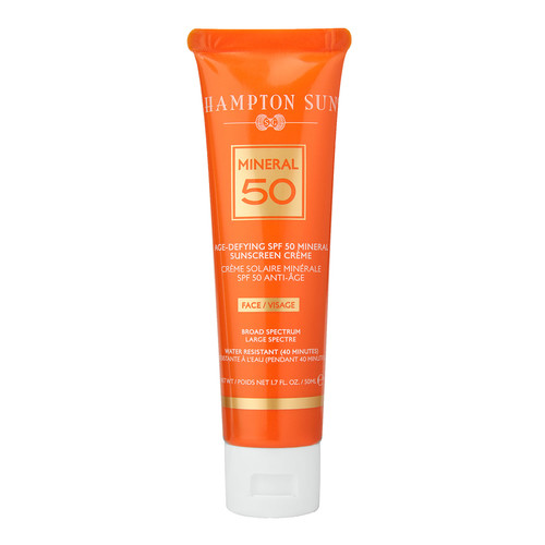 Age-Defying Mineral Crme Sunscreen for FACE SPF 50