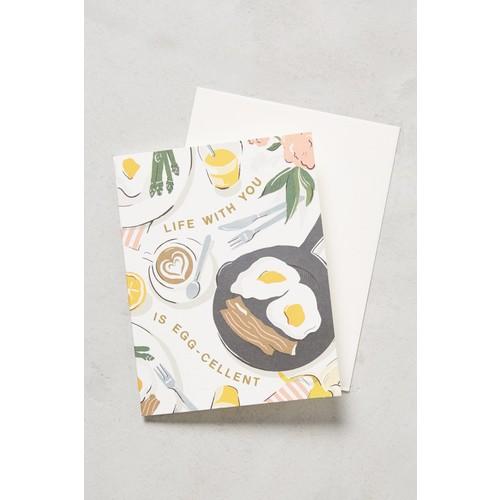 Amy Heitman Anthropologie Life Is Eggcellent Card [REGULAR]