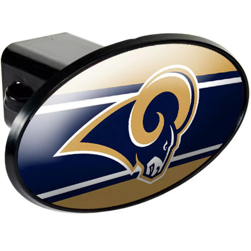 NFL Racks/Futons Trailer Hitch Cover [St. Louis Rams, One Size Fits All, los-angeles-rams]