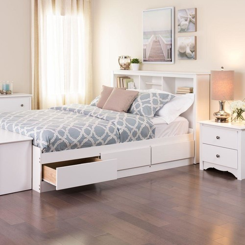 Prepac Monterey Queen Wood Storage Bed