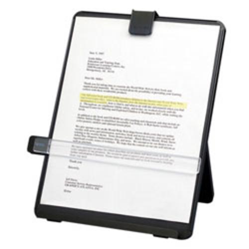 Fellowes Nonmagnetic Desktop Copyholder, Black