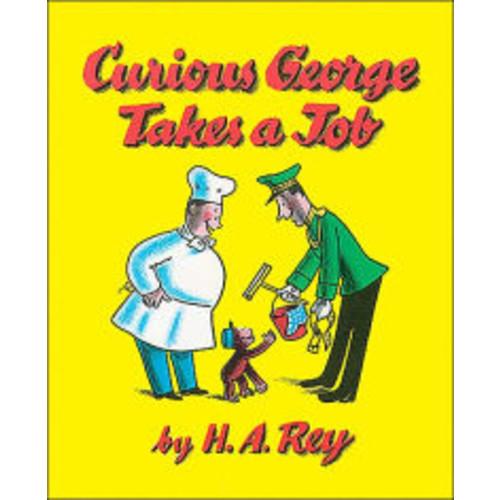 Curious George Takes a Job [Audio Cassette] (Scholastic)