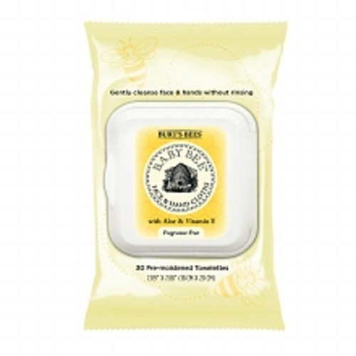 Burt's Bees Baby Bee Face & Hand Cloths Fragrance Free