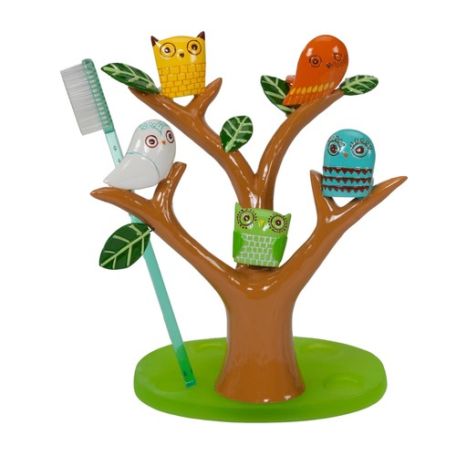 Creative Bath Give A Hoot Resin Toothbrush Holder, 1.0 CT