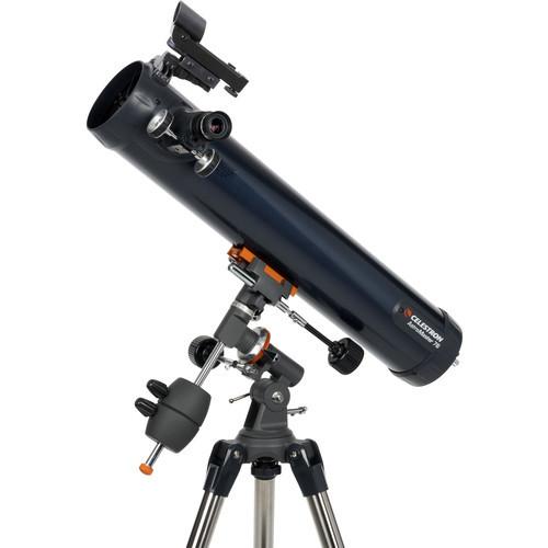 AstroMaster 76EQ 76mm f/9.2 Reflector Telescope
