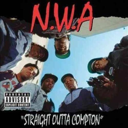 N.W.A. - Straight outta compton [Explicit Lyrics] (CD)