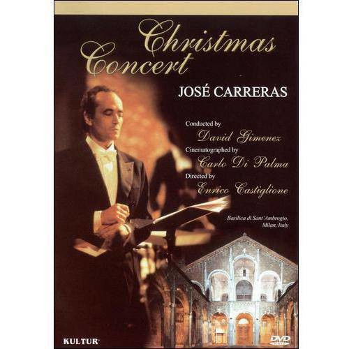 Jose Carreras: Christmas Concert (DVD) (Eng/Italian/Spa)