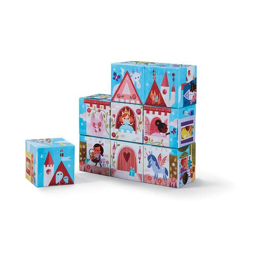 Crocodile Creek Little Architect Multicolor 3.5-inch Girls' Builder Jumbo Block Set Mix and Match Stacking Set