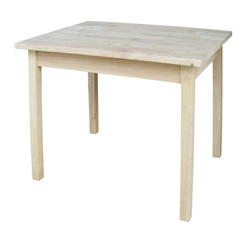 International Concepts Unfinished Child's Table [Unfinished]