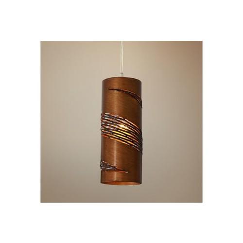 Varaluz Flow Hammered Ore Mini Pendant Light