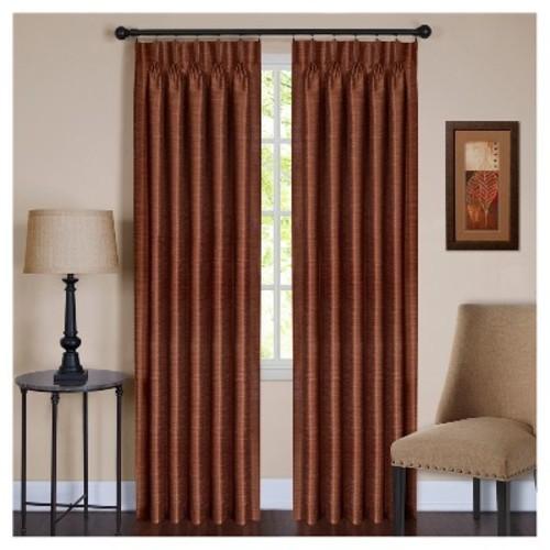 Parker Pinch Pleat Window Curtain Panel - Achim