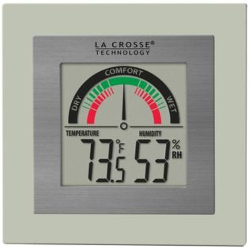 LA CROSSE TECHNOLOGY(R) LA CROSSE TECHNOLOGY WT-137U Indoor Comfort Meter