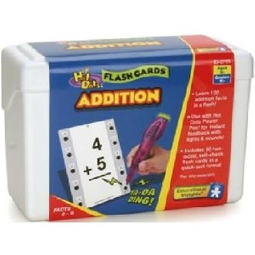 Educational Insights Hot Dots Math Flash Cards- Addition [1]