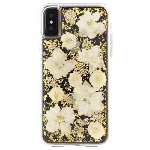 Case-Mate iPhone X Case Karat Petals - White