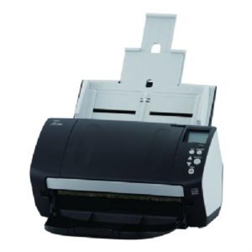 Fujitsu FI-7160 Document Scanner - 600 dpi, Color CCDs, 60ppm Speed, 80-sheets ADF, USB 3.0 - CG01000-282501