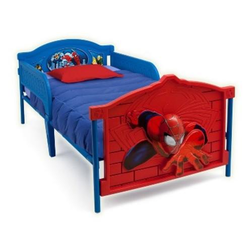 Delta Children Marvel Spider-Man 3D Twin Bed