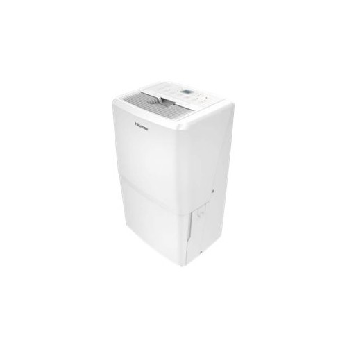 Hisense - 70-Pint Portable Dehumidifier - White