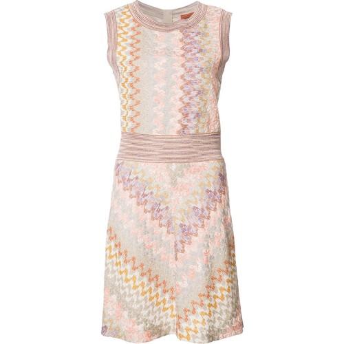 MISSONI Knitted Mini-Dress