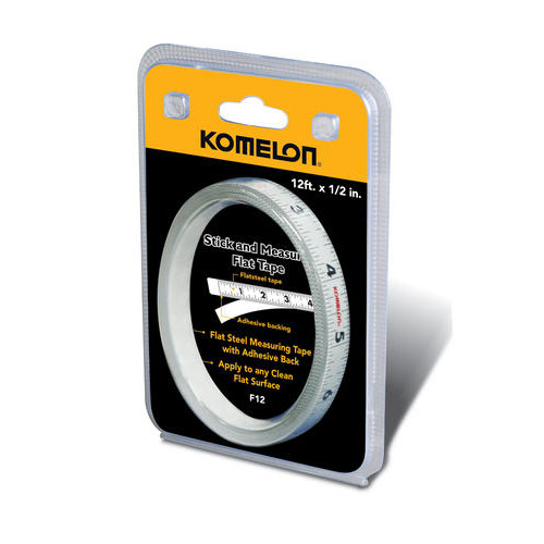 Komelon 12' Flat Adhesive Tape