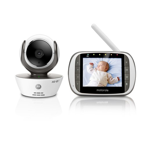 Motorola MBP853 Connect HD Wi-Fi Video Baby Monitor