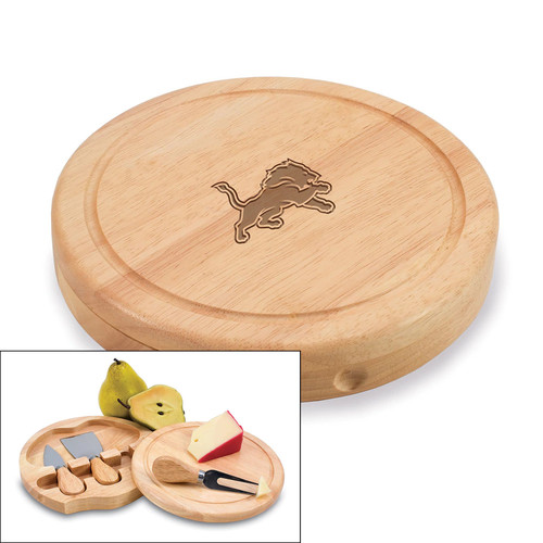Picnic Time Detroit Lions Brie Cheese Board Set