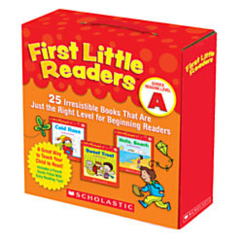 Scholastic First Little Readers Parent Pack: Guided Reading Level A