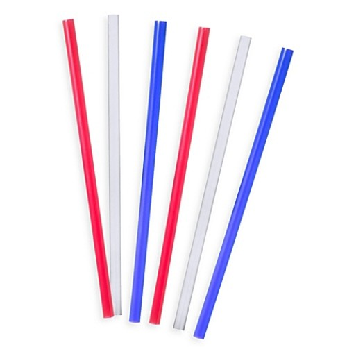 Tervis 6-Pack 11-Inch Straight Drinking Straws in Traditional Colors