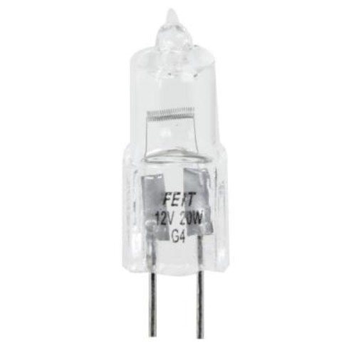 Feit Electric 20-Watt Halogen T3 Bi-Pin Base Light Bulb (48-Pack)