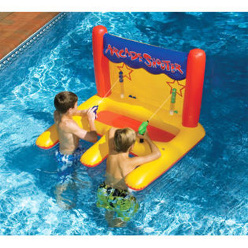 Swim; Floating Arcade Style Shooter Inflatable for Swimming Pool