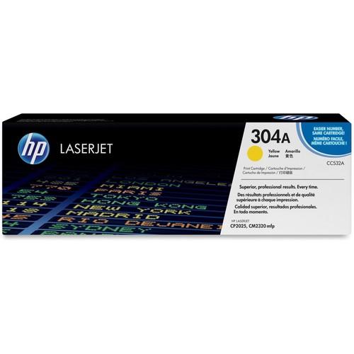 HP - CC532A High-Yield Toner Cartridge - Yellow