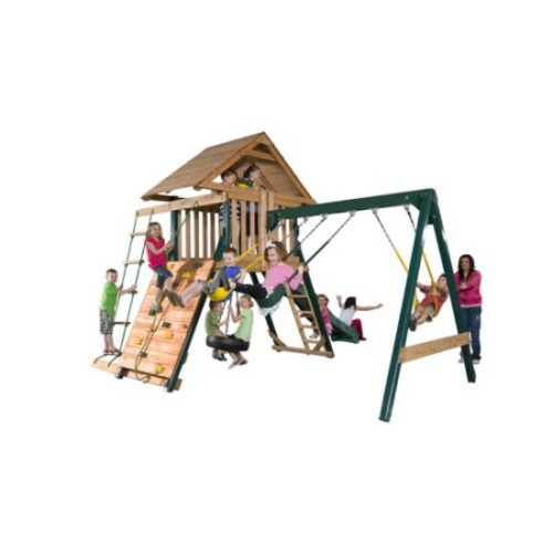 Wood Boulder Creek Swing Set