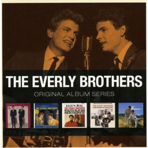 Original Album Series (It's Everly Time/A Date With The Everly Brothers/Rock 'N' Soul/Two Yanks In England/Roots) [CD]