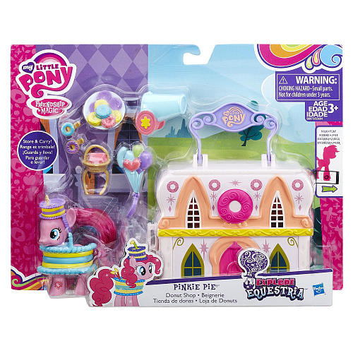 My Little Pony Friendship is Magic Explore Equestria Donut Shop Playset - Pinkie Pie