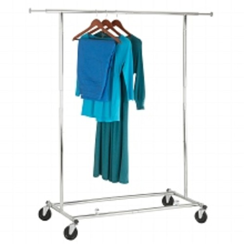 Honey Can Do Collapsible Garment Rack Chrome