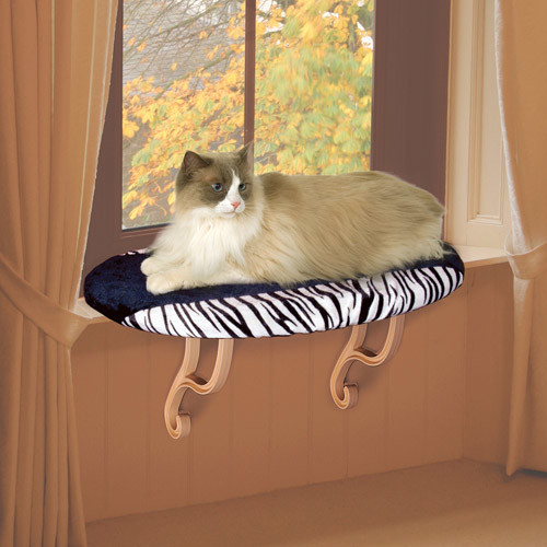 K&H Pet Products Kitty Sill [Zebra]