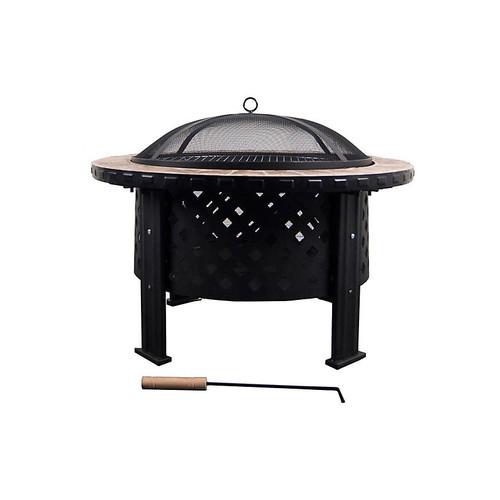 Diana Fire Pit, Black