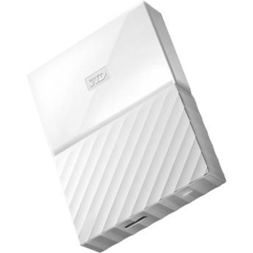 2TB My Passport USB 3.0 Secure Portable Hard Drive (White)
