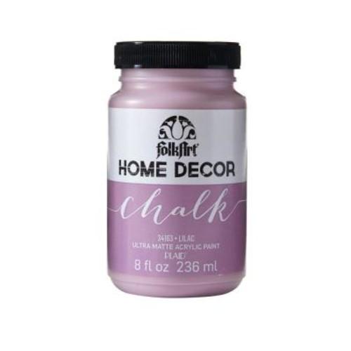 FolkArt Home Decor 8 oz. Lilac Ultra-Matte Chalk Finish Paint