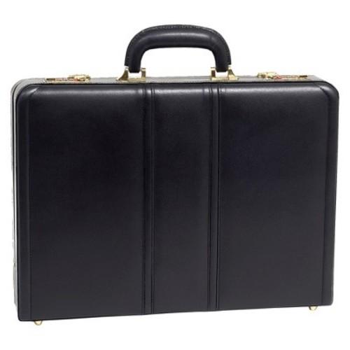 McKlein Leather Attache Case - Black