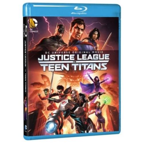 Justice League vs Teen Titans Blu-Ray Combo Pack (Blu-Ray/DVD/Digital HD)